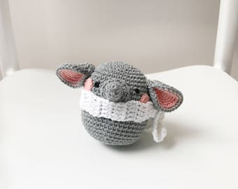 ELEPHANT crochet amigurumi, crochet elephant toy, amigurumi elephant toy, elephant baby gift, elephant baby toy, elephant gift for kids