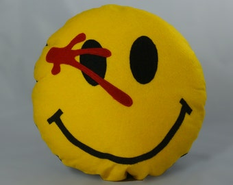Morbid Smiley Pillow