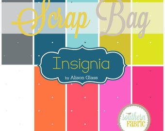Insignia- Scrap Bag Quilt Fabric Strips by Alison Glass