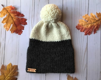READY TO SHIP Knit Double Brim Beanie