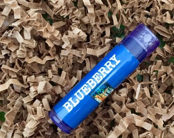Blueberry Beeswax Lip Balm