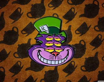 Cheshire Cat, Shpongle Hat Pin