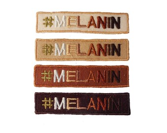 Melanin Iron-on Patches