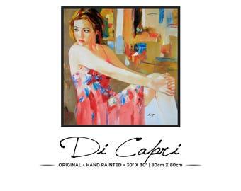 Summer Days | Original Oil Painting On Canvas | Modern Art | 08