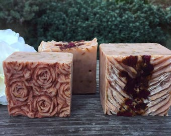 Rose Petal with Rose Clay Soap