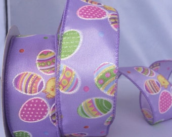 Wire Edged Easter Ribbon