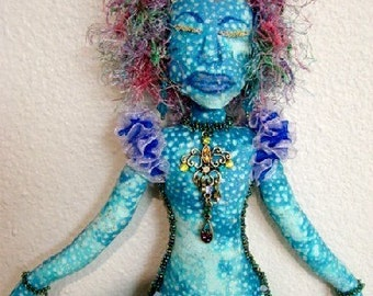 Spirit Doll-Ooak Art Doll  (Made to Order by Request)