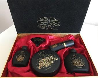 "Old Formula Shiseido ""Zen"" Perfume Collection NIB New In Box, Vintage Shiseido Zen Perfume,  Solid Perfume, Dusting Powder"
