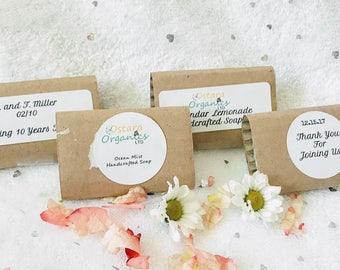 Rustic Wedding Soap Favors, farmhouse wedding favors, custom wedding favors, custom soap favors, bridal shower favors, custom party favors