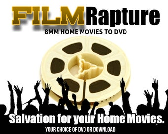 Transfer 8MM Reels and Super 8 Home Movies to DVD or Movie File or Your Hard Drive
