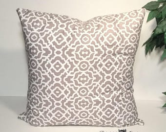 "Gray Pillow Cover, Gray Pillows, Decorative Pillows, Throw Pillows, Couch Pillows, 24"" Pillow Cover, 24 Inch Pillow, 24x24 Pillow Cover"