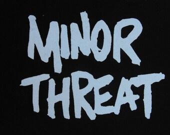 Minor Threat patch punk rock hardcore bad brains Free Shipping