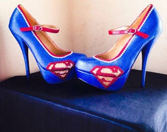 Superman High Heels