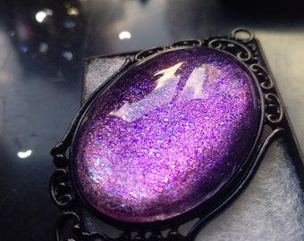 Fairy Gothic Necklace - Black gift box included
