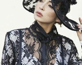 Bohemian Parisian Hat------By Stella Dottir