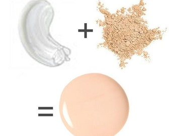 Colorless Makeup, Clear Foundation, Beauty Balm, Organic Natural, Made To Match, Sheer Primer, Translucent, Primer Drops, Face Gloss