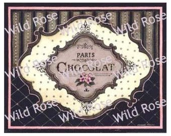 ViNTaGe ChoCoLaTe LoVeRs LaBeLs ShaBby DeCALs