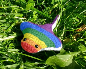 Rainbow Pride Stingray
