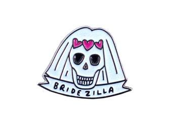Bridezilla Enamel Pin