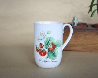 Botanical Strawberry Mug