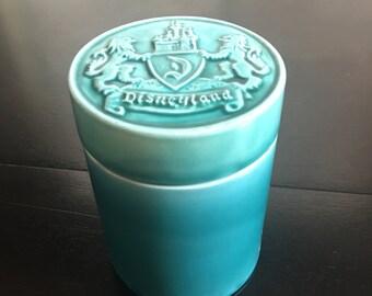 1950's Vintage Disneyland Ceramic Cigarette Holder / Container
