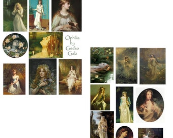 Ophilia Digital Collage Set