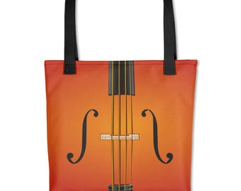 Cello, Violin, Viola String Instrument Tote Music Bag