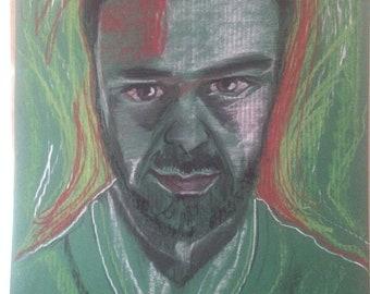 Pure form - portrait of a man