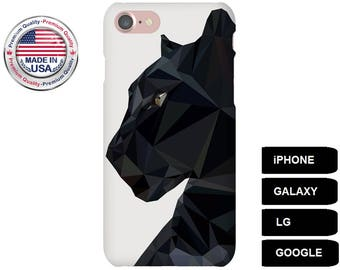 Panther Phone Case, Phone Case Panther, Panther iPhone Case, Panther Galaxy Case, Panther Google Pixel Case, iPhone SE Case, Galaxy S5 Case