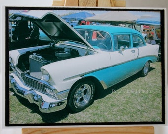 ACEO, Artist Trading Card, ATC, 1955 Chevy, photograph