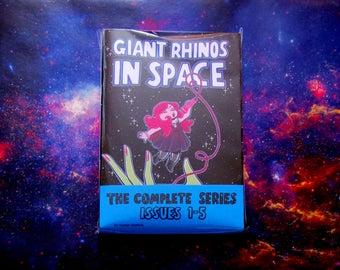 Giant Rhinos In Space Complete Series Bundle