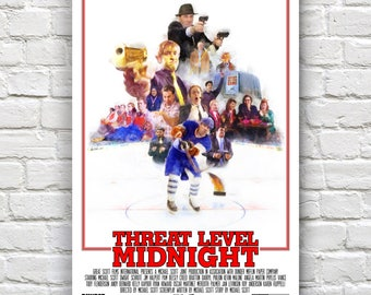 The Office - Threat Level Midnight Print