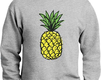 Summer Pineapple Printed Sweatshirt