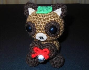 Tanuki Crochet Plush