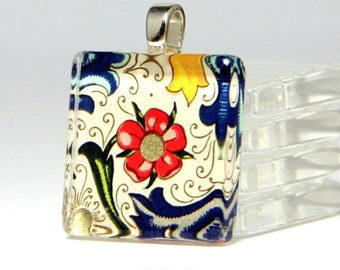 How to Make Glass Jewelry Pendants with Gorgeous Italian Papers. Deluxe DIY kit with supplies and Glamour FX Glass. Annie Howes. Makes 6.