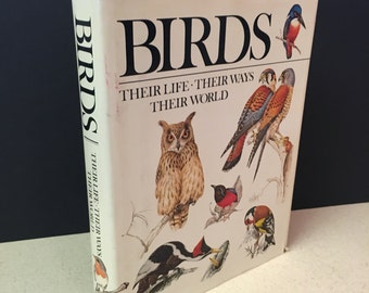 Birds Their Life Their Ways Their Worlds by Christopher M. Perrins, 1974, Reader Digest Edition