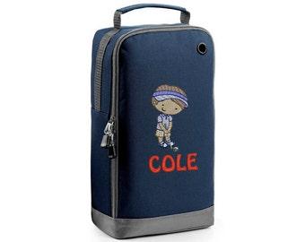 Personalised Embroidered Golf Shoe Bag - Golf Bag - Golf -Girls Shoe Bag –Golf Shoe Bag– Golf Shoe Bag - Girls Golf Shoe Bag