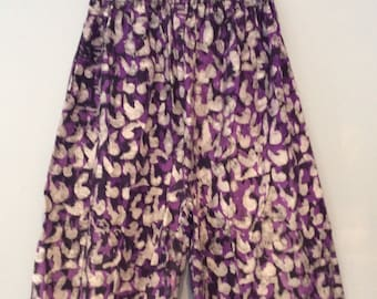 Batik Cotton Shorts
