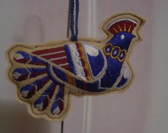 Scandinavian Bird Ornament