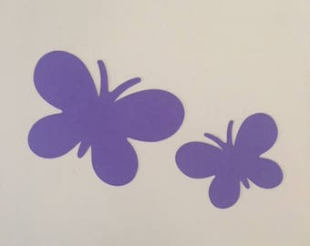 25 Cardstock Die Cut Butterfly Cut Outs