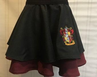 Hogwarts Skirt (any house)