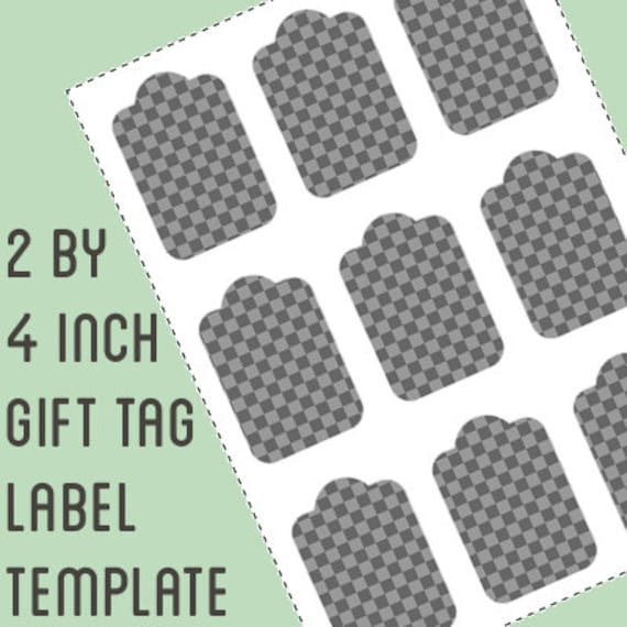 Gift tag label template 2 by 4 inch retangle do it yourself gift tag label template 2 by 4 inch retangle do it yourself gift tag labels instant download from printablewonderland on etsy studio solutioingenieria Choice Image