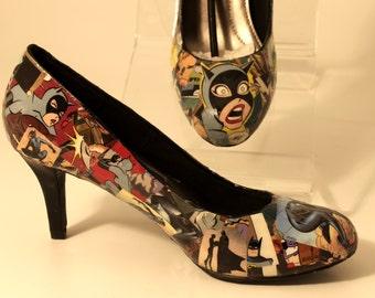 Catwoman Comic Heels