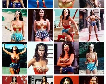 Wonder Woman, 16  PHOTO FRIDGE MAGNETS - Glossy