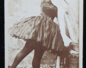Original 1890's Sweet Caporal Cigarettes Actress Fanny Rice Tobacco Card Premium - Kinney Bros. - Free Shipping