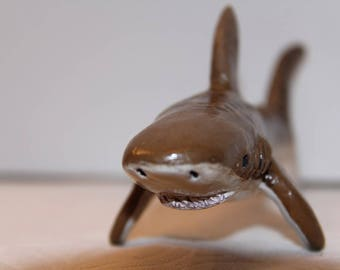 Tiger Shark Ornament Figurine, 100% Handmade