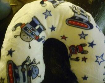 Kids Robot travel neck pillow