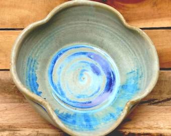 Large Ceramic Serving Bowl, Pasta Bowl, Large Pottery Bowl, Ceramic Decorative Bowl