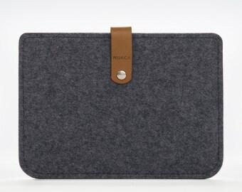 Kindle Sleeve - Kindle Paperwhite Case - Kindle Felt Case - Grey Case Kindle