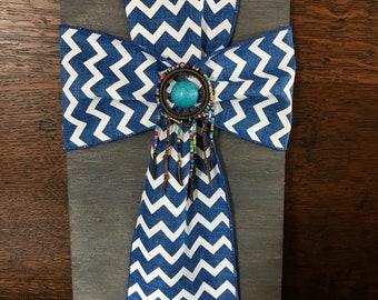 WALL CROSS//cross/ hanging cross/ unique cross/ fabric cross/ Christian gifts